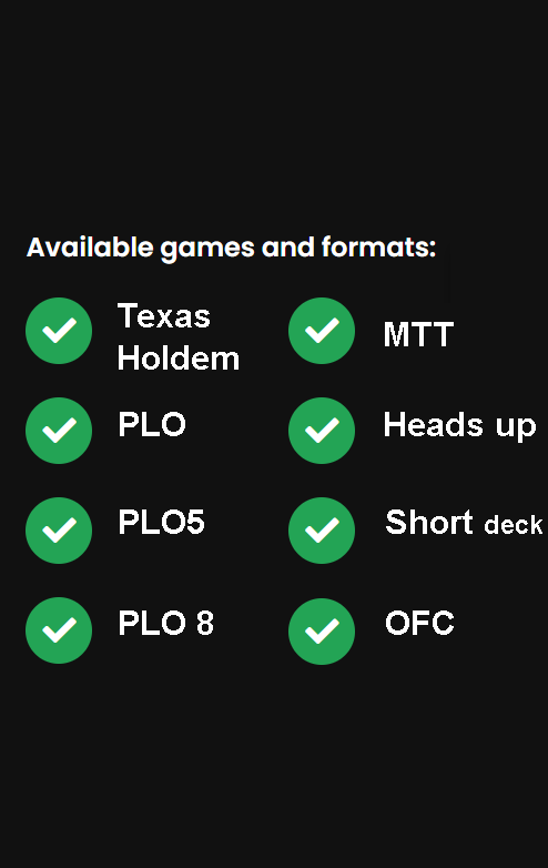 Available poker games