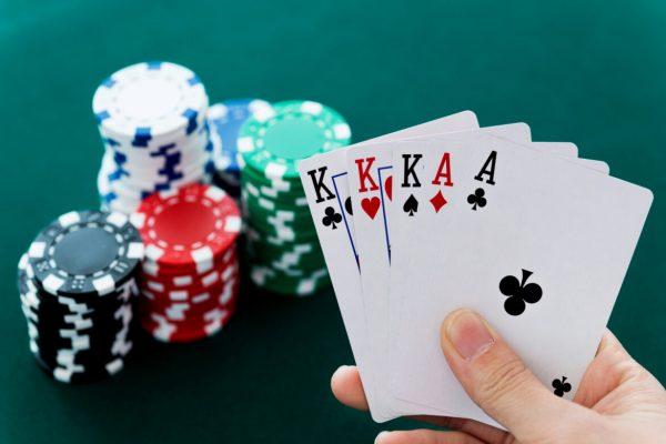 full flash poker