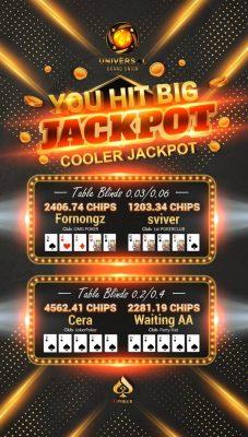 Upoker Jackpots