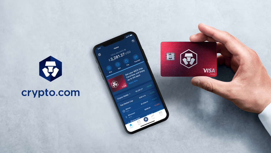 Crypto debit card