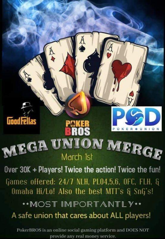 Pokerbros pod union Pokerbros the pod Pokerbros good fellas union Pokerbros good fellas